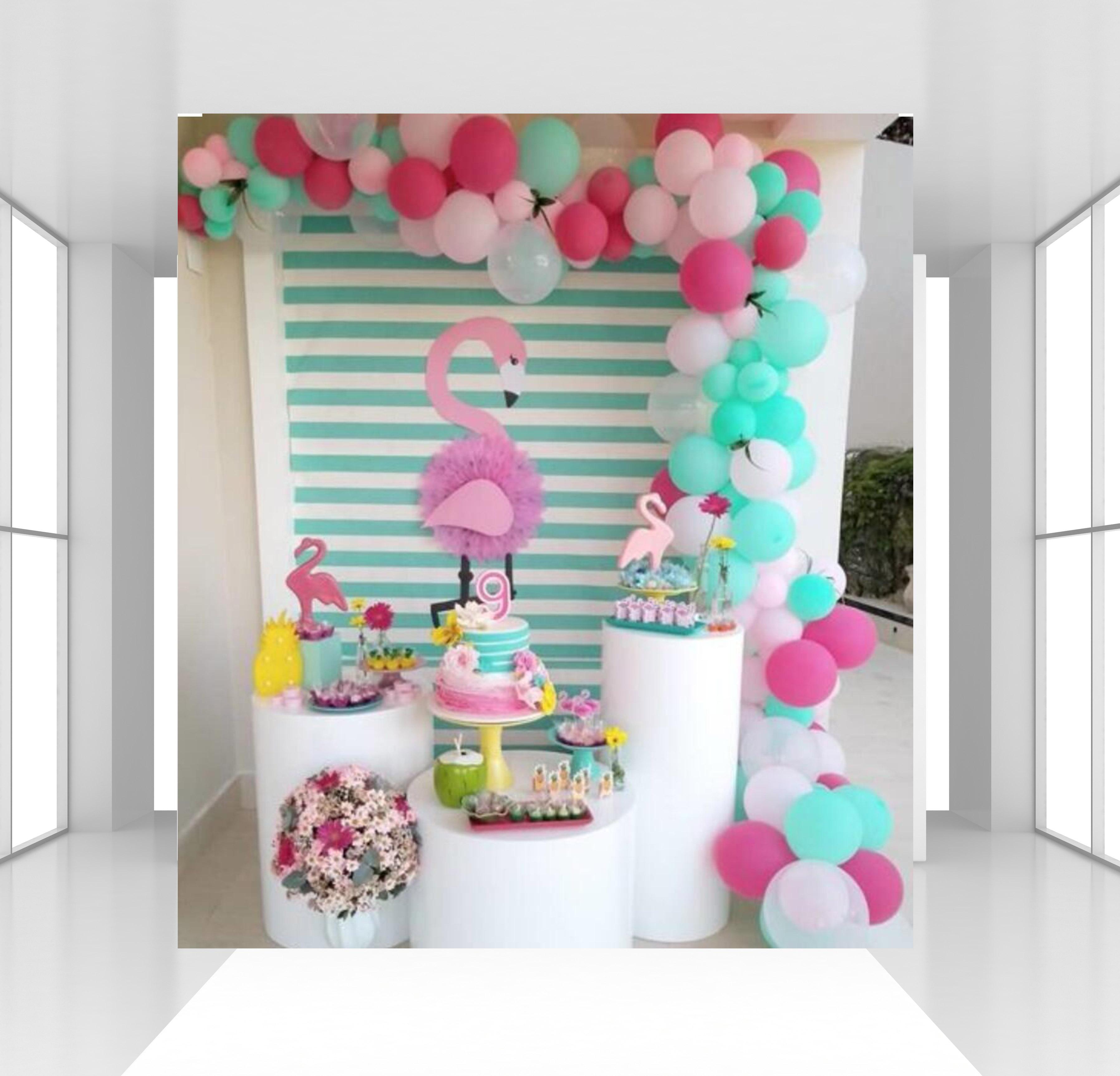 HUAYI personnalisé vert menthe rayé toile de fond photophone fond nouveau-nés studio fête d'anniversaire décor photographie toile de fond