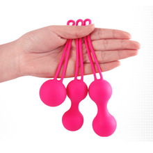 1 Pcs Vaginal Tight Exercise Ball Tighten Silicone Safe Sex Toy for Women Lady DC88