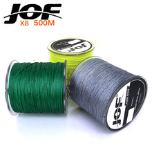 500M Braided Fishing Line Multifilament PE Braided Wire Fishing Tackle 15LB – 80LB 3 Colors 8 Strands