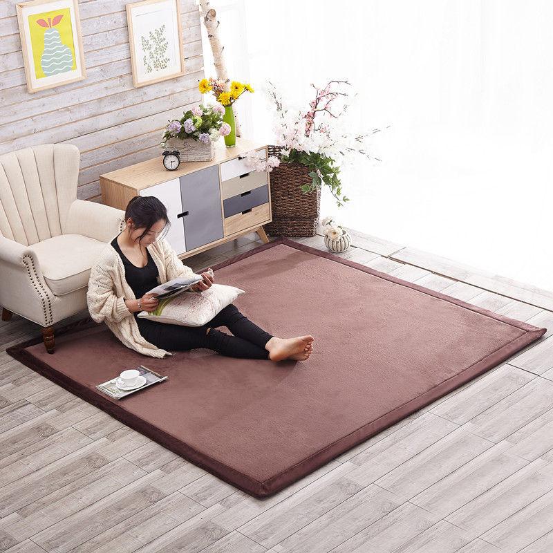 Honlaker Style japonais Tatami tapis 180*200*2 CM luxe grand salon tapis enfants chambre tapis - 2