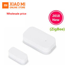 Original New Xiaomi Aqara Door Window Sensor Zigbee Wireless Connection Smart Mini door sensor Work With Android IOS App control(China)
