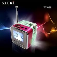 New The Multifunctional Bluetooth Speaker Mini Portable Wireless FM Radio LED Clock Wireless For Mobile Phone PC