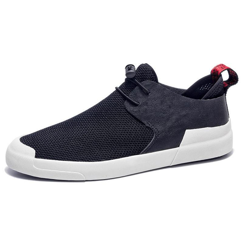 Обувь с дышащей сеткой кроссовки скольжения на спортивная обувь Для мужчин повседневная обувь летние мужской моды обувь прогулочная Для му...