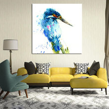 Kingfisher Limited Edition Animal Print Canvas Painting Living Room Home Decor Modern Wall Art Oil Poster Picture