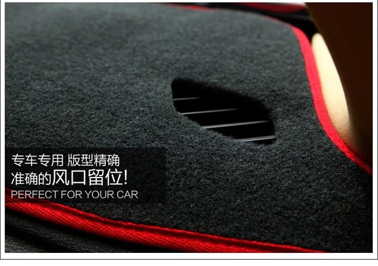 car dashboard photophobism pad auto cover for Mazda 2/3/6 cx5/7 ATENZA Familia Premacy Citroen QUATRE elysee Picasso C2/4/5/4L стоимость