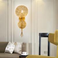 Nordic Ferro lâmpada de parede lâmpada de parede luz do quarto sala de estar moderna lâmpada arandela arandela luz studyroom LED decor home Indoor parede lâmpadas