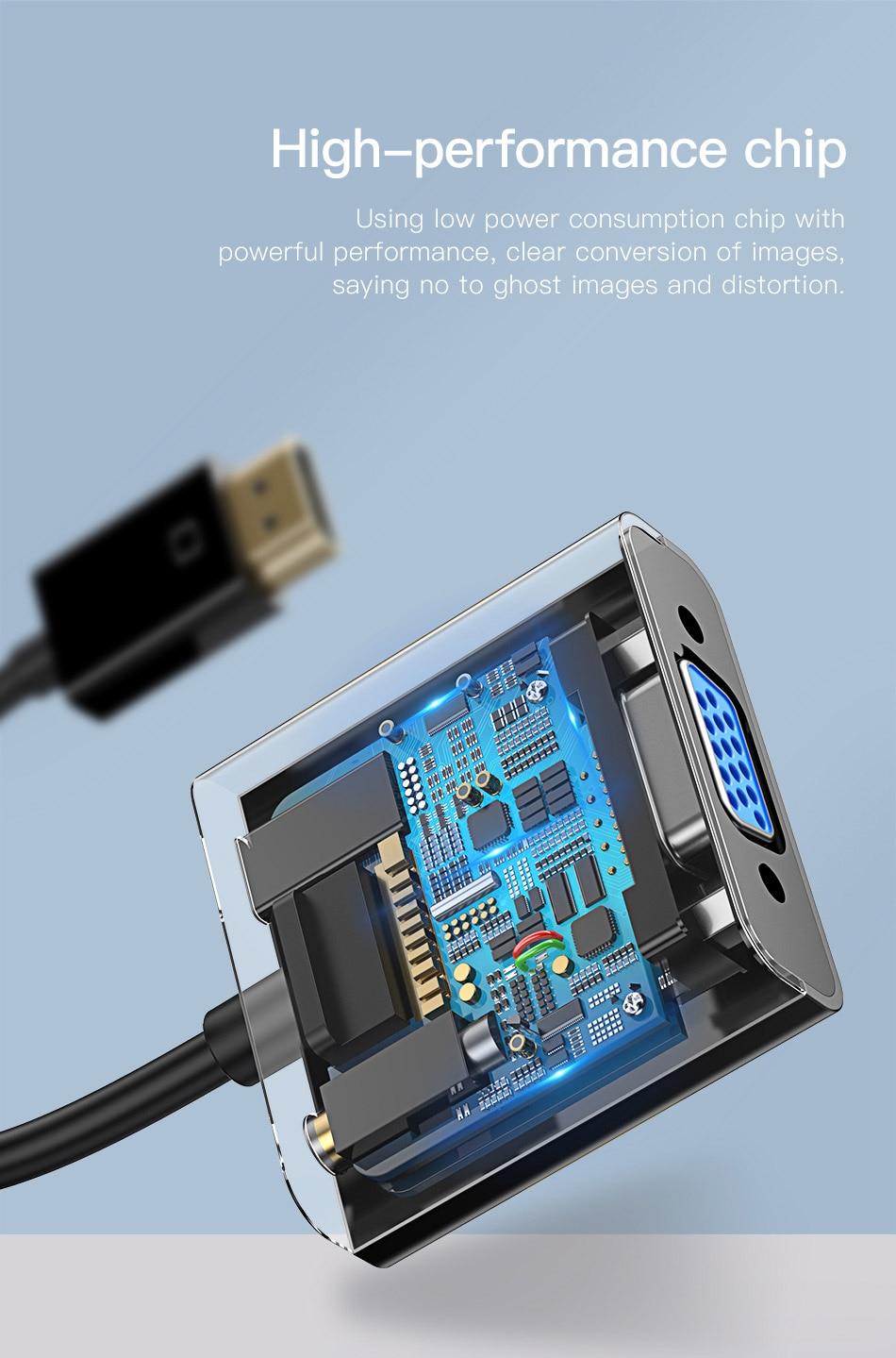 HTB1H3SsmOAnBKNjSZFvq6yTKXXaQ Baseus HDMI to VGA Cable HDMI VGA Adapter Digital HDMI to VGA Jack 3.5 mm Converter Video Aux Audio Splitter For Laptop PS4 TV
