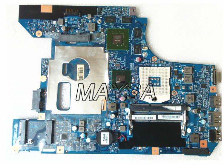 Brand new laptop <font><b>motherboard</b></font> for <font><b>Lenovo</b></font> B570 <font><b>B570E</b></font> 48.4PA01.021 LZ57 HM65 PGA989 DDR3 1GB Fully tested image