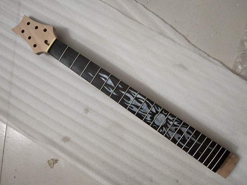 1 pcs PRS unfinished electric guitar neck mahogany made and rosewood fingerboard 22 fret one left unfinished guitar neck electric guitar neck solid wood 22 fret new rosewood fingerboard