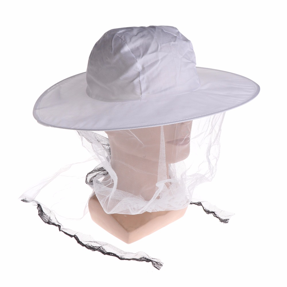 1Pc Bee Hat Beekeeping Mesh Net Head Face Protector Cap Fly Mosquito Outdoor Camping Fishing Hat Beekeeping Supplies White C421Pc Bee Hat Beekeeping Mesh Net Head Face Protector Cap Fly Mosquito Outdoor Camping Fishing Hat Beekeeping Supplies White C42