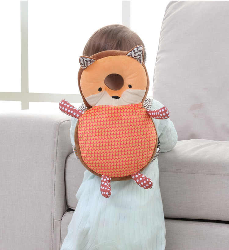 Baby Pillow Head Protection Pad Toddler Headrest Children's Pillow Neck Nursing Drop Resistance Cushion Baby Room Decor