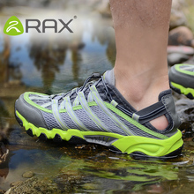 RAX Outdoor Breathable Hiking Shoes Men Women Lightweight Walking Climbing Shoes Anti-skid Aqua Water Trekking Shoes 31-5K065