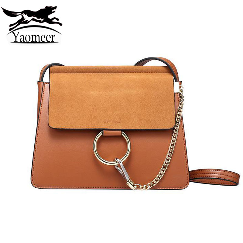 Luxury Genuine Leather Handbags Women Shoulder Bags Female Vintage Brown Messenger Crossbody Bag Designer Famous Brand Real Tote new luxury famous brand designer bag women shoulder handbag real genuine leather messenger bags handbags for ladies bolsa ly109