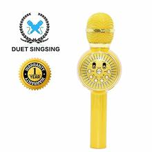 Bluetooth Microphone Machine With Speaker Wireless Singing Mic With Led Lights Perfect For Pop Rock N Roll Parties Solo Parties недорго, оригинальная цена