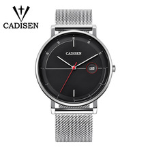 лучшая цена 2018 NEW Mens Watches Top Brand Luxury Quartz Watch Men Stainless Steel Waterproof Sport Wristwatch Relogio Masculino Gift Box