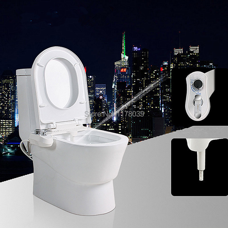 Female Cleaning Nozzle Spray Smart Toilet Seat Bidet With