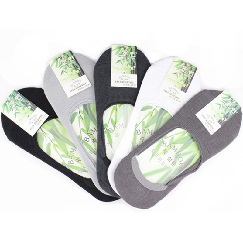 6pcs=3Pair/lot Fashion Men Boat Socks Summer Autumn Non-slip Silicone Invisible Cotton Socks Male Ankle Sock Slippers