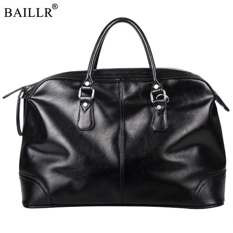 2019 New Fashion Multifunction casual High-capacity PU leather Travel Bag  men messenger Zipped handbag b59742380c83f