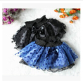 Children Fluffy Miniskirt Pettiskirts Tutu Saias Baby Girls Pleated Skirts Princess Skirt Girls Dance Wear Party Clothes 2-7Y