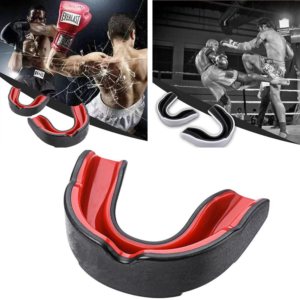 Sport Mouth Guard EVA Teeth Protector Kids Youth Mouthguard Tooth Brace Protection For Basketball Rugby Boxing Karate
