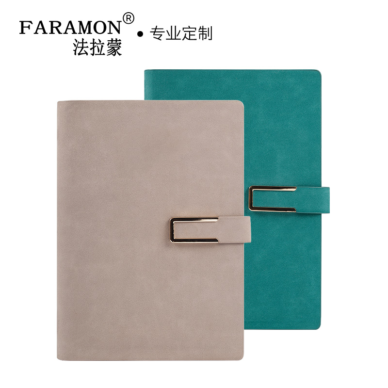 FARAMON Business Loose-leaf Notebook A5 Imitation Sheep Skin Soft Cover Notepad 1PCS 2018 fashion business notebook business loose leaf notebook a5 notebook with calculator multi functional loose leaf