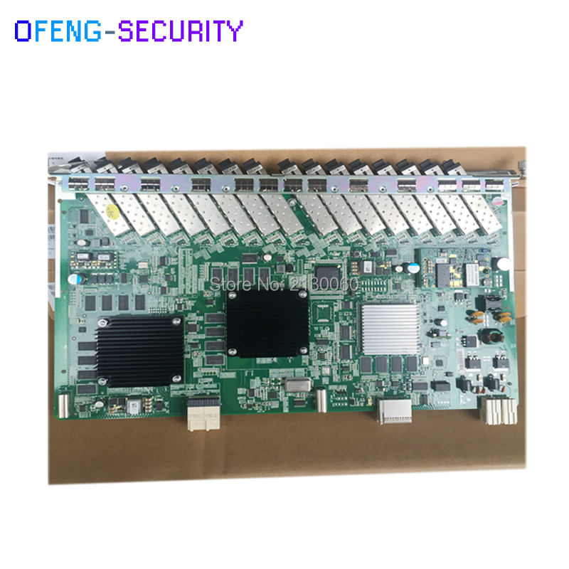 ZTE Card 16 Ports GPON Board GTGH For ZTE C300 C320 OLT, With 16 SFP Modules, High Integration Level