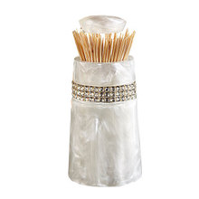 Home Automatic Holder Table Toothpick Storage Box Tandenstoker Decoration Cotton Bud Holder Household Toothpick Dispenser LY127 цена 2017