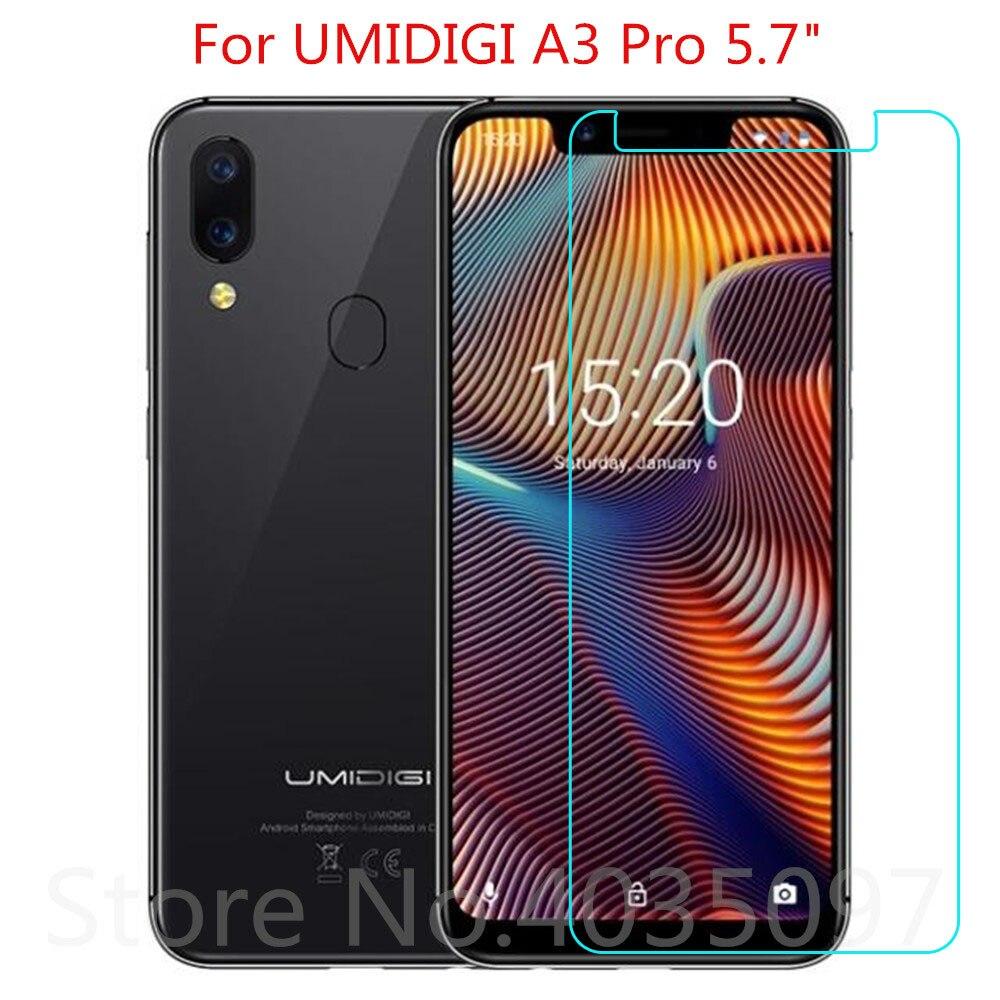 2pcs Tempered Glass For UMIDIGI A3 Pro Screen Protector 9H 2.5D Phone Protective Glass For UMIDIGI A3 Pro Glass