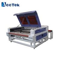 Professional 90W 100W 150W auto feeding laser machine fabric cnc cutter co2 laser machine