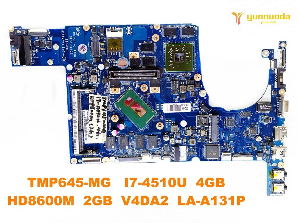 Original for font b ACER b font P645 MG laptop motherboard TMP645 MG I7 4510U 4GB