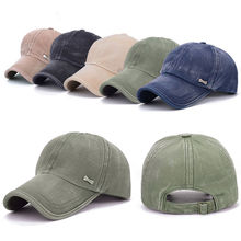 Top Unsex Baseball Cap New Casual Classic Solid Color Hip Hop Outdoor Sports Hats Man Woman Summer Breathable Sun Hat 5 colors