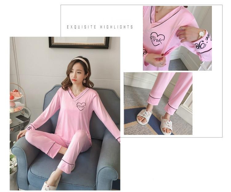 Dollplus Primavera Pijamas de Algodão para As