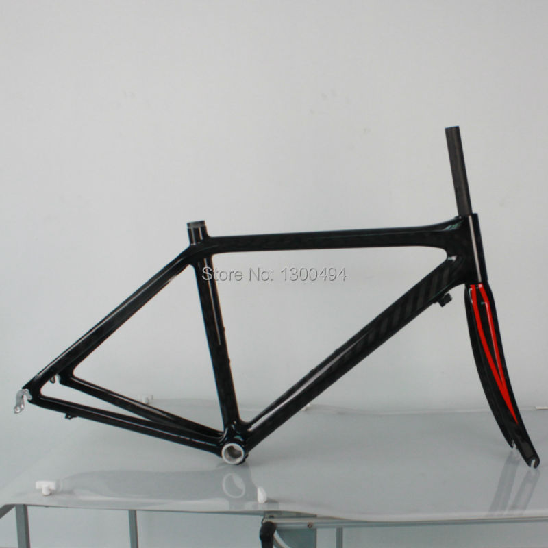Bike parts Carbon Road Frames classic design KQ-RB101 Including fork 12K Glossy Finish Factory Outlets mtb 26er carbon frame mountain bike frame kq mb921 size17 5inch 3k glossy matte finish factory outlets