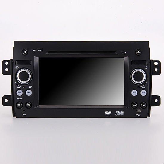 "7"" Car DVD Player GPS Navi Bluetooth ipod for 2006 Suzuki SX4 Crossover backrear view TV RDS SD USB mp3 Radio"