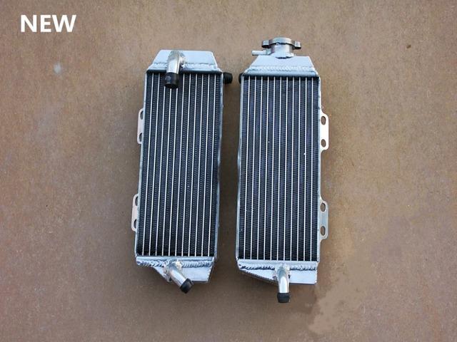 Alto desempenho L & R da liga de alumínio radiador para Yamaha WR450F / WR 450 F 2003 2004 2005 2006