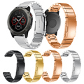 Bracelet de montre en acier inoxydable pour Garmin Fenix 3 5X Bracelet de montre Sport Bracelet Bracelet accessoires Bracelet de verrouillage classique|band wrist bands|wristband strap|garmin watch band -