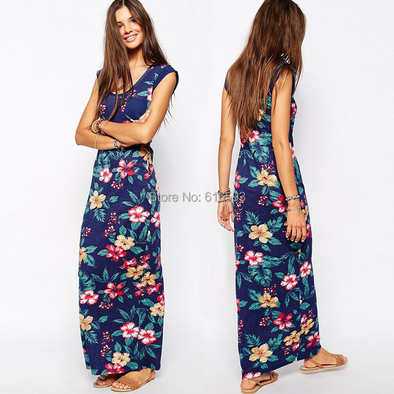 Collection Long Summer Maxi Dresses Pictures - Reikian