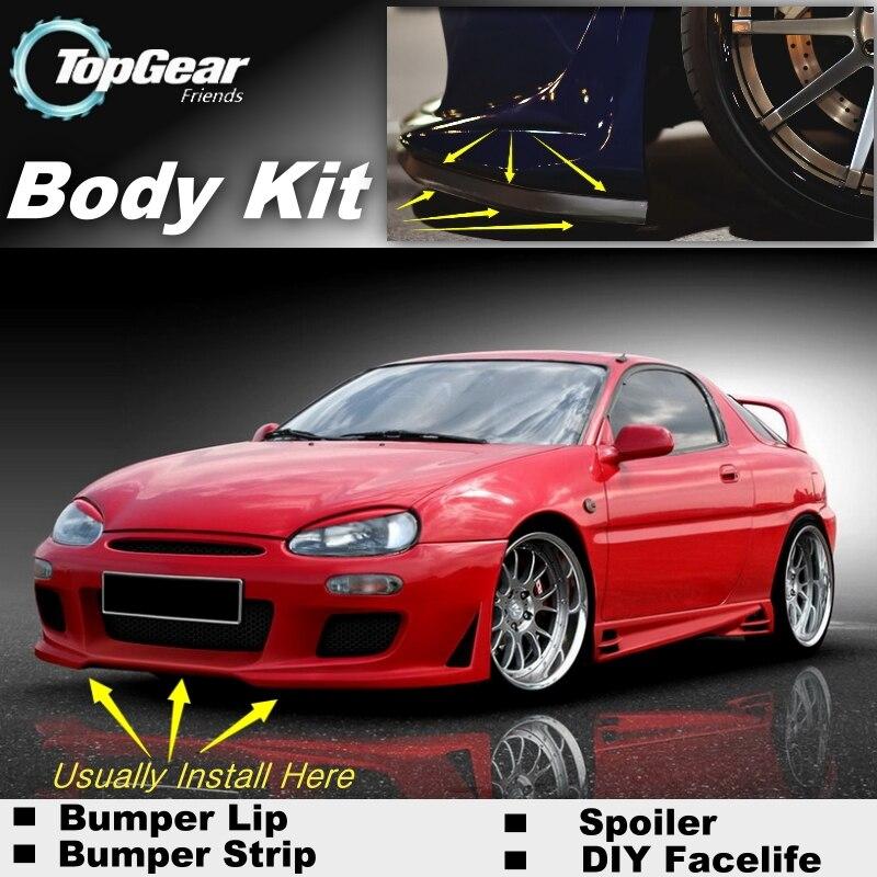 Pour Mazda MX-3 MX 3 MX3 AZ3 AZ-3 Precidia Lèvre/Spoiler Avant Déflecteur Pour TOP Gear pour Voiture Tuning/Kit De Carrosserie/Bande Jupe
