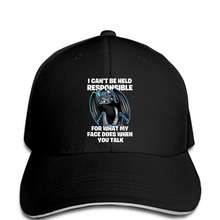 9ead1c57473 Men Baseball cap What My Face Does When You Talk Toothless Dragon Black Hat  novelty tsnapback · 32 Colors Available