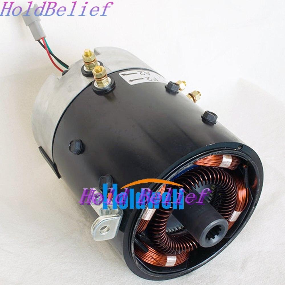 Holdwell DC Motor 48 V 3.7KW XP-2067-S Substituir Club Car 102775101 para Veículo Elétrico original