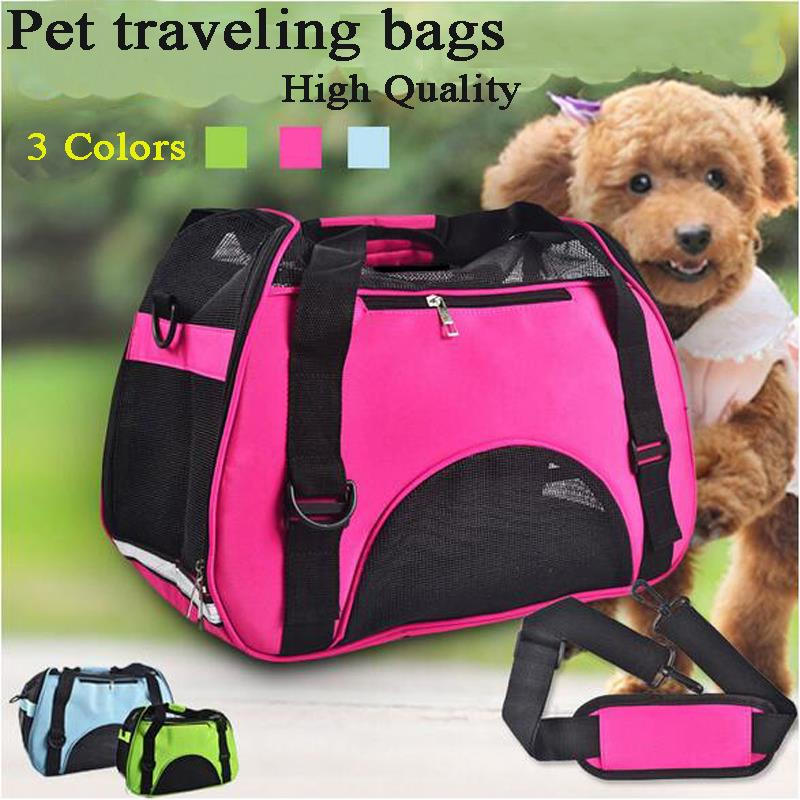 Comfort Pet Carrier Dog Shoulder Bag Portable Breathable Mesh Travel Transport Cage For Small Medium Dogs Cats Puppy Bag