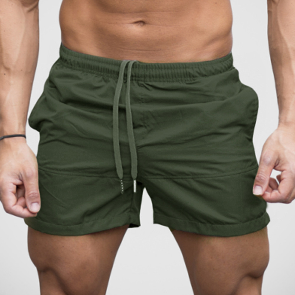 Men Gym Casual Sports Jogging Soft And Comfortable Elasticated Waist Shorts Pants Trousers L50/0211