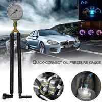 General Automobile Gasoline Pressure Gauge Oil Pressure Gauge Fuel Pressure Gauge Test Meter Test Gasoline Pressure Tool Quick-C