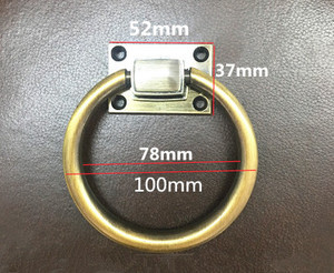Image 4 - shaky drop rings furniture handles shiny silver Room wooden door wooden chair sofas pull chrome perilla tirador puerta