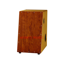 Afanti Music Rosewood / Birch Wood / Natural Cajon Drum (KHG-213)