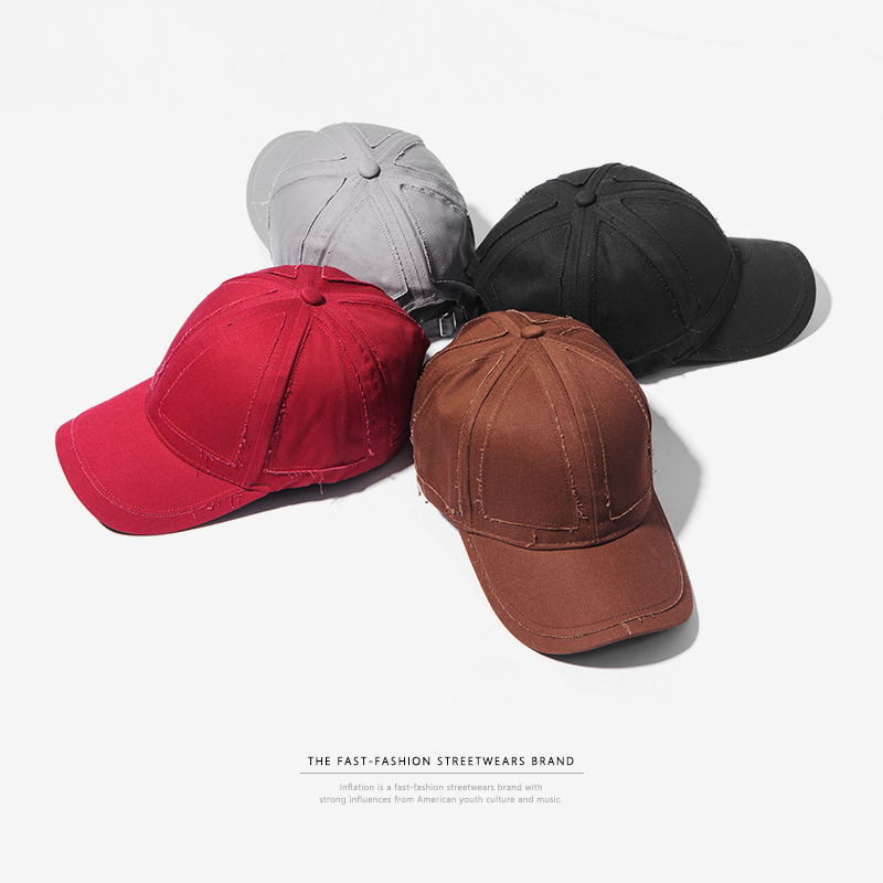 INFLATION Summer Fashion Unisex Hip Hop Baseball Caps Flexfit Fitted Closed Solid Snapback Hat Men Women Outdoor Caps 113CI2018