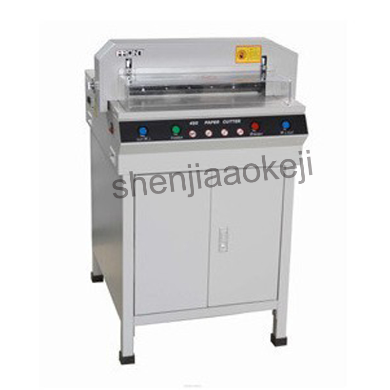 Electric paper cutter Semi Auto cutter of paper Cutter Machine Paper Trimmer Electric paper cut machine 110v/220v цена 2017