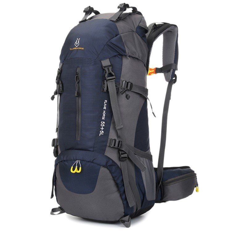 60L Large-Capacity Camping Hiking Backpacks Lightw