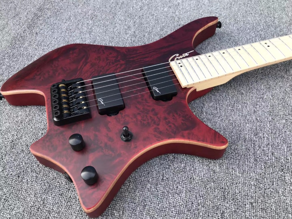 2018 new factory strandberg boden os6 6 strings headless electric guitar free shipping. Black Bedroom Furniture Sets. Home Design Ideas