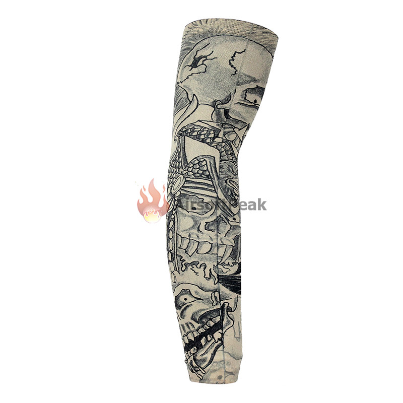 Outdoor Arm Warmer Half Finger Sleeves Long Gloves Sun Uv Protection Hand Protector Cover Arm Sleeves Ice Silk Sunscreen Sleeves Selling Well All Over The World Men's Arm Warmers Apparel Accessories